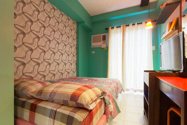 ★Cozy Studio B + Pool★Near Abreeza & SM Lanang