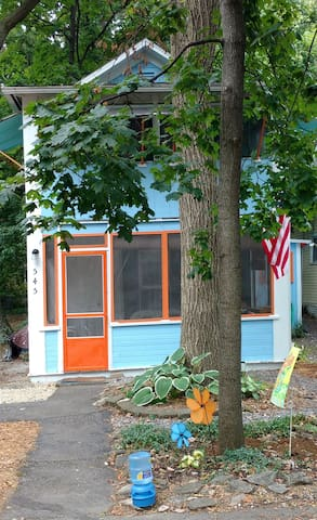 Cozy, historic cottage in the center of Lakeside - Lakeside Marblehead - Ev