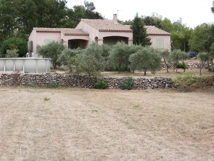 villa les oliviers en famille