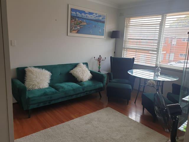 Very quiet accommodation in inner Sydney