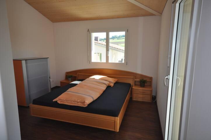 Doppelzimmer in Einfamilienhaus im Seetal