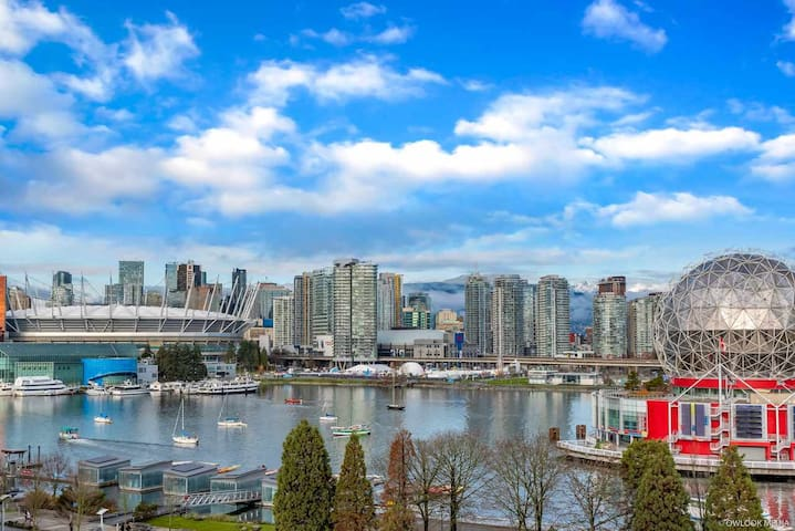New 2 bedroom w/ large terrace in olympic village