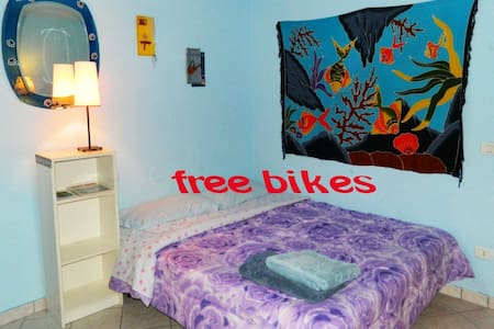 room1(5km to city center by bikes) - Florenz - Haus