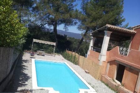 Villa au cœur de Roussillon avec piscine - Roussillon - Villa