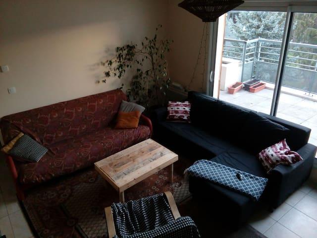 Appartement avec terrasse : Proche Lyon (Tassin)