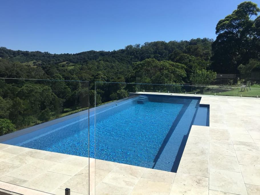 Infinity Edge pool with a beautiful view
