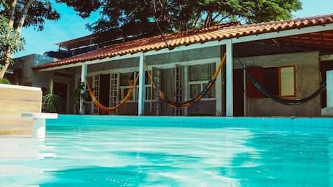 Jardim Secreto Guest House - compart. Beija-Flor