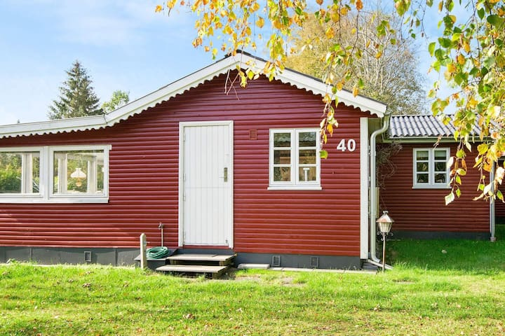 Classic Holiday Home in Glesborg with Terrace