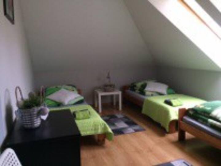 Pokój gościnny 3-os.Kraków-Bosutów, 5km od miasta