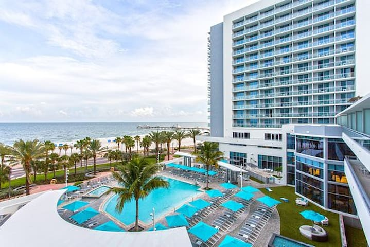 Wyndham Clearwater beach  resort condo 1 bedroom