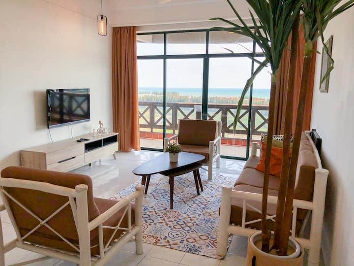 Seaview 3 bedroom@townarea Walk to mall-MMC-Jonker