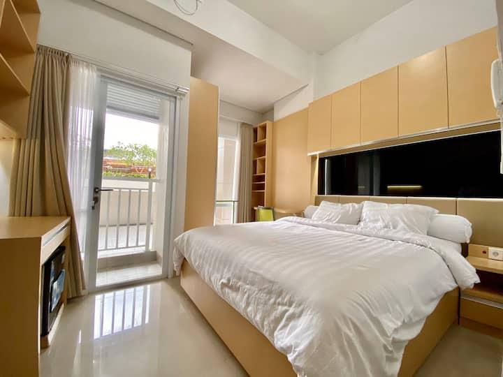 Studio Apartment near Tugu Jogja