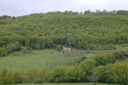 maison ancienne vallée Dordogne - Rumah