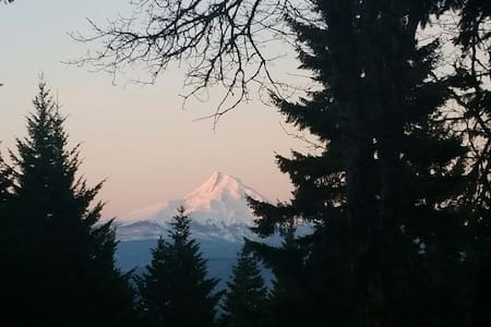 Dog friendly mountain home White Salmon Hood River - White Salmon - บ้าน