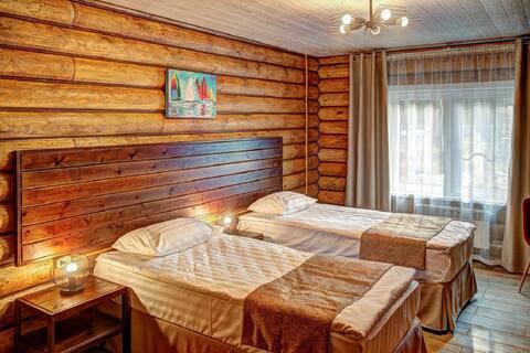 Стандарт в эко-отеле Байкальское Шале.Красивый вид