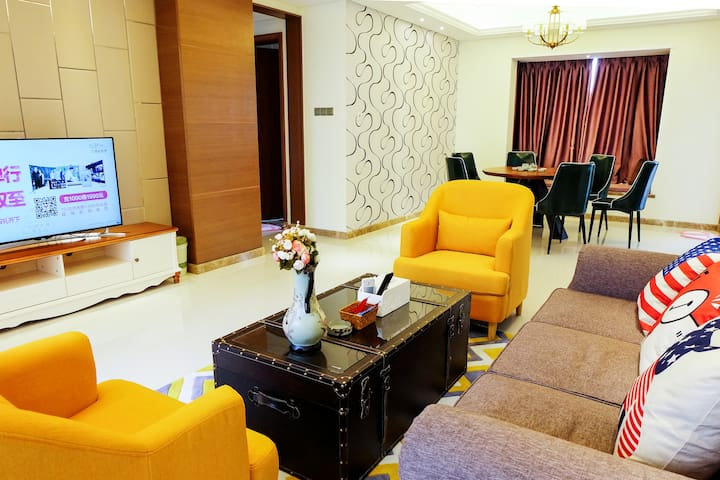鹿驻·近长隆乐园·现代简约三居房 - Guangzhou Shi - Leilighet