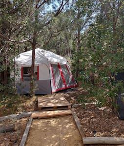 Maraposa Gardens Bunny Tent, 420 friendly