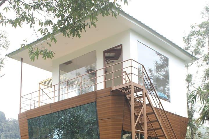 heavenvalleys tree house munnar mankulam road