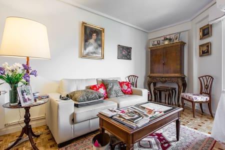 Habitacion privada con 2 camas, armario empotrado, - Madrid - Bed & Breakfast