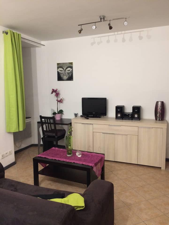 Studio cosy au cœur du village St Martin d'Uriage
