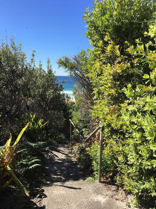 Access track to beach ( 70 m from house)