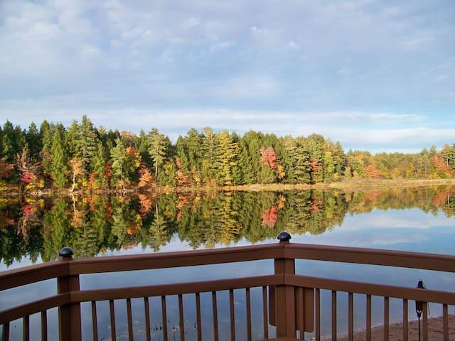 Gifford Lake - Fall Foliage/ Snowmobile Heaven!!!