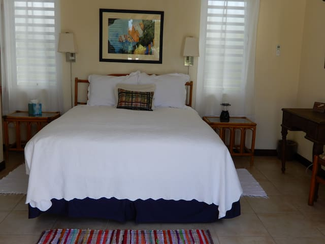 Bedroom looking in from Poolside
