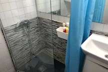 First shared bathroom