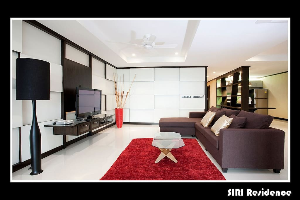 Living room and space