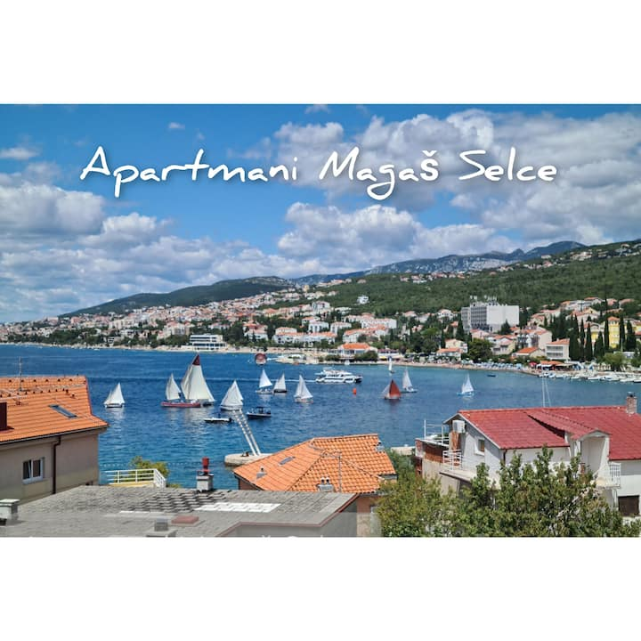 Studio apartman Mirta; s pogledom na more