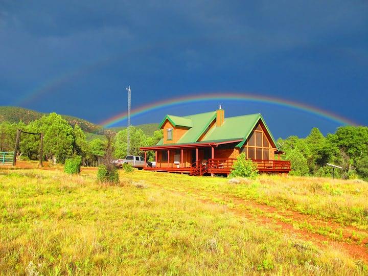 Young Arizona Ranch Cabin