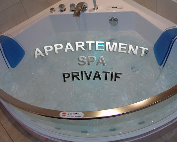 appartement spa privatif à beaune - Beaune - Byt