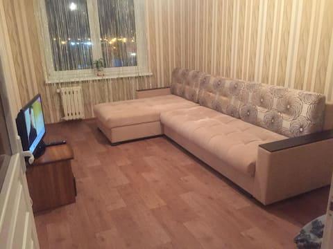 1+1 Baranovichi Apartment:  English Support