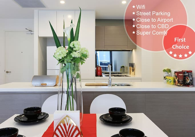 Designer Apartment close CBD & Airport & Beach
