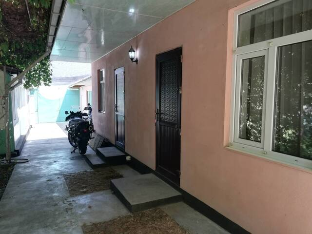 Osh 1 Zhukovs -private single room with bathroom