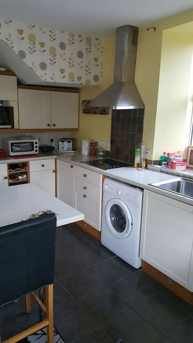 modern kitchen for use