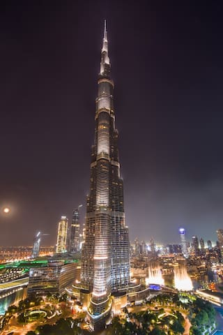 Your view on the Burj Khalifa