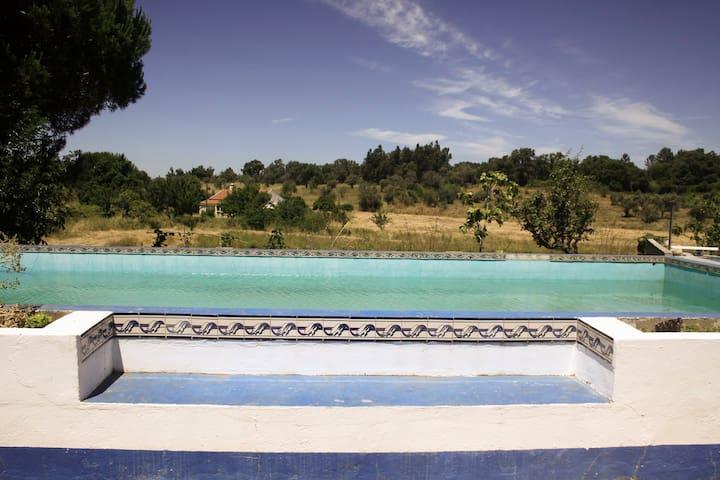 Eco farm house with pool - São Luís - Villa