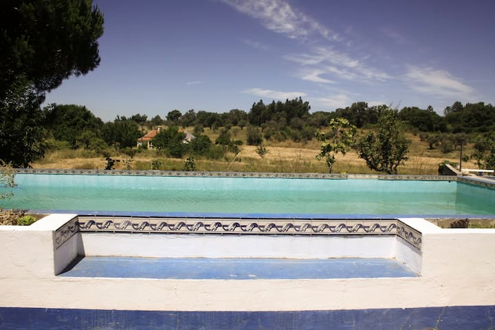 Eco farm house with pool - São Luís - วิลล่า