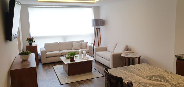 Luxury Apartments 2 Recamaras Roof Garden 120m2