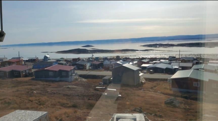 Spacious breathtaking Tundra Bay view room.