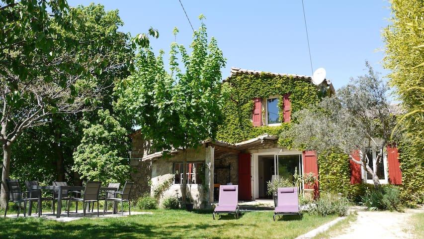 mas Cévenol en pleine nature - Saint-Jean-du-Gard - Luontohotelli