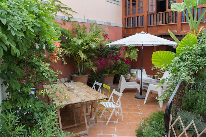 Typical canarian house with garden. - Las Palmas de Gran Canaria - Apartment