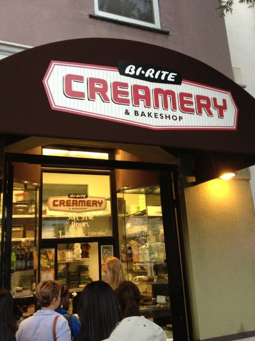 Photo of Bi-Rite Creamery in Mission District