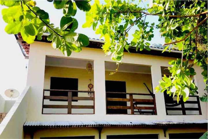 Suite confortável - Casa Mar&Flor Praia do Prea
