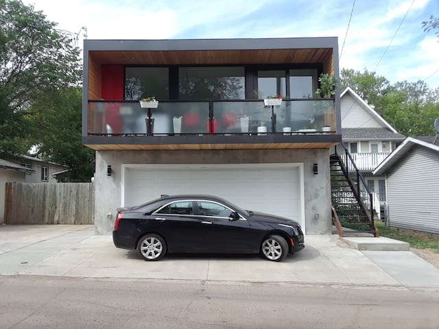 New private little house in Old Strathcona.