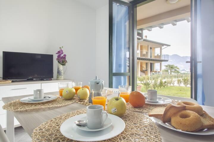 Ortensia - Bright apartment in Sulzano