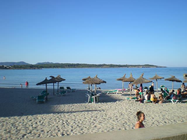 APARTMENT 13/2-ON THE BEACH - S'Illot-Cala Morlanda - Leilighet