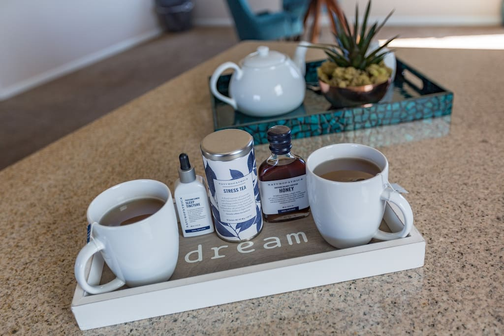 Sip on an herbal elixir before crawling into bed to help you fall into a restful sleep.