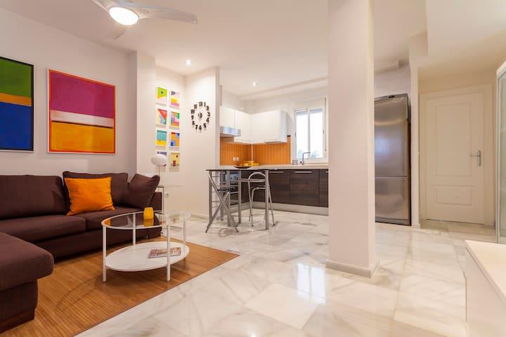 Cozy apartment in Sevilla downtown (3 pax) - Sevilla - Appartement